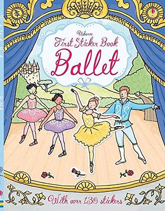 Usborne First Sticker Book Ballet