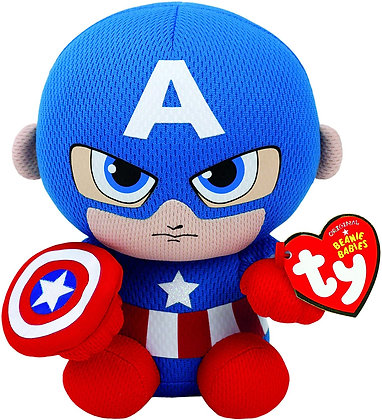 """Captain America - Marvel Limited Edition  - TY 6"""""""