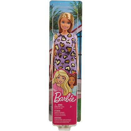 Barbie Classic Doll Purple Dress