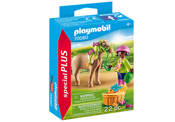 Playmobil Special Plus - Girl with Pony - 70060