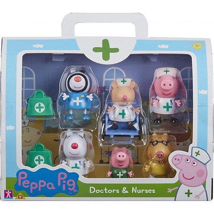 Peppa Pig - Doctors & Nurses Figure Set