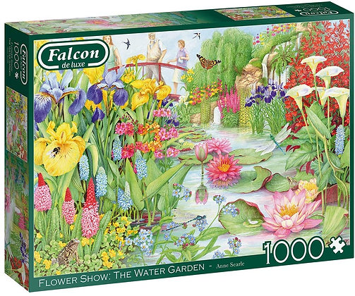 Flower Show: The Water Garden - 1000pc - Falcon