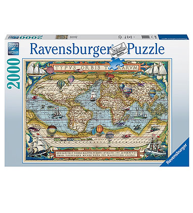Around the World - 2000pc - Ravensburger 16825