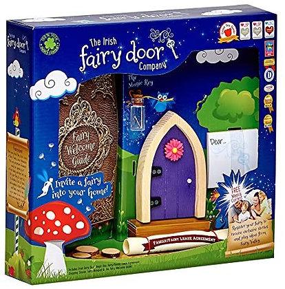 The Irish Fairy Door  - Purple