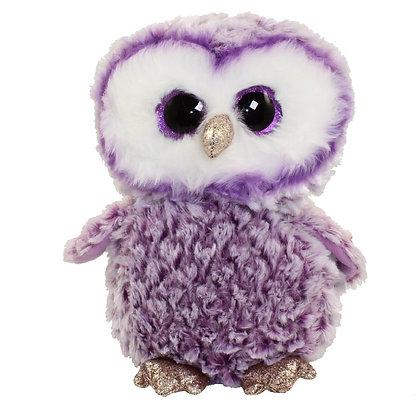 "Moonlight - 12"" Beanie Boo - Purple Owl"