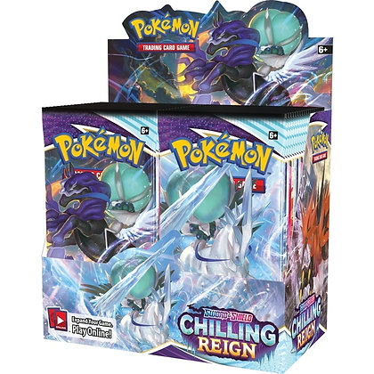 Pokemon TCG Sword and Shield Chilling Reign Booster Packs