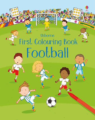 Usborne First Colouring Book Football