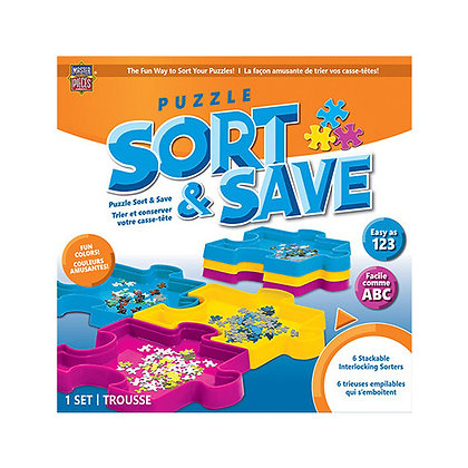 Masterpieces Puzzle Sort and Save
