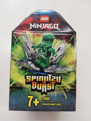 NINJAGO - Spinjitsu Burst Lloyd - 70687
