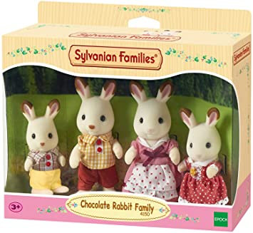 Sylvanian Families - Chocolate Rabbit Family - 4150