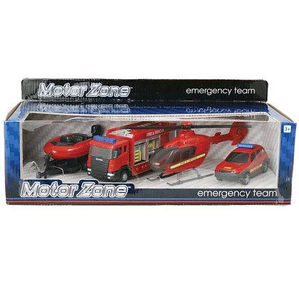Motor Zone Emergency Team 4pk