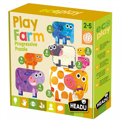 HEADU - Play Farm Progressive Puzzle