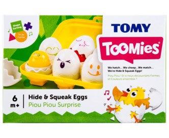 Tomy Toomies - Hide & Squeak Eggs