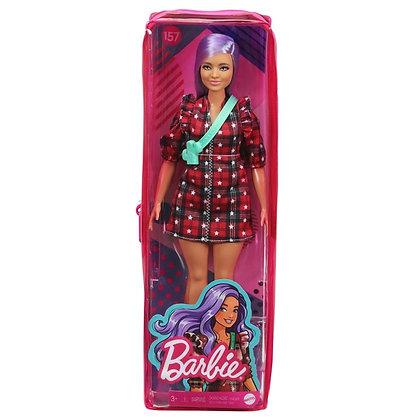 Barbie - Fashionista 157 - Red Chequered Dress