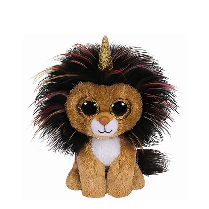 "Ramsay - Unicorn Lion - 6"" TY Beanie Boo"
