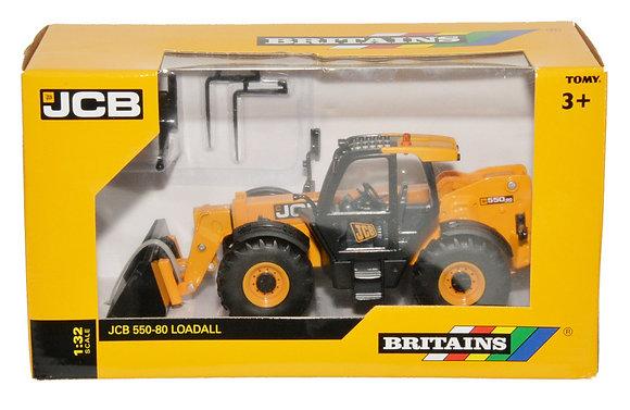 Britains JCB Loadall 550-80 1:32 Scale