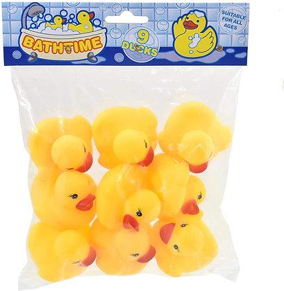 Bathtime Bath Ducks Yellow 9pc