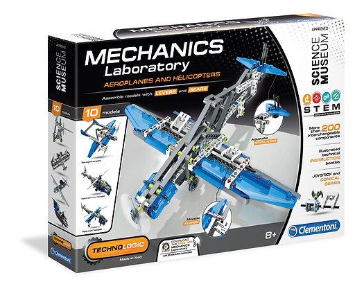Mechanics Lab Aeroplane and Helicopter