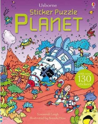 Usborne Sticker Puzzle Book Planet