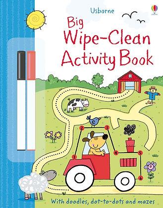 Usborne Big Wipe Clean Activity Book