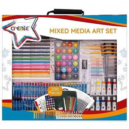 Create Mixed Media Art Set 200pc
