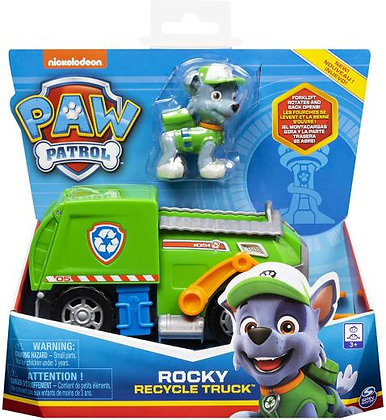 Rocky - Recycle Truck - Paw Patrol Basic Vehicle