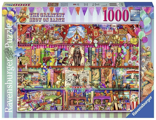 The Greatest Show On Earth - 1000pc - Ravensburger 15254