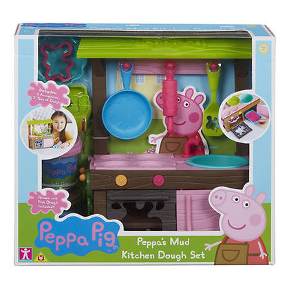 Peppa Pig - Peppa's Mud Kitchen Dough Set