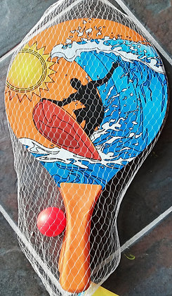 Wooden Paddle & Ball Set