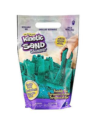 Kinetic Sand 2lb Shimmer Teal