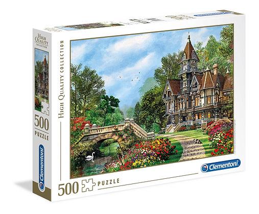 Waterway Cottage - 500pc - Clementoni