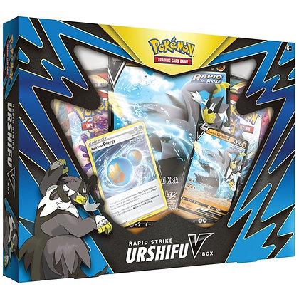 Pokemon TCG Urshifu V Box Rapid Strike