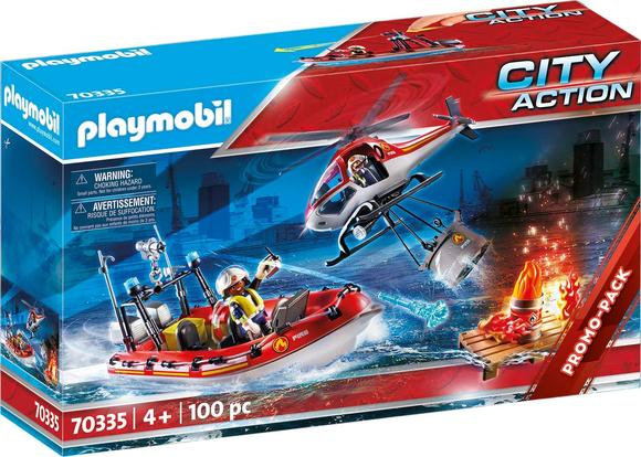 Playmobil City - Promo Fire Rescue Mission - 70335
