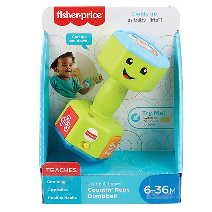 Fisher Price Laugh and Learn Dumbell