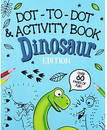 Dot to Dot and Activity Book Dinosaurs