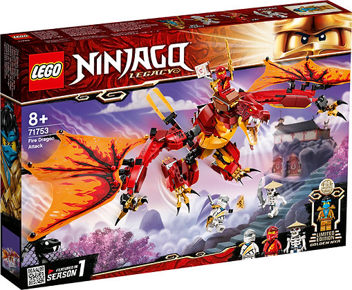 NINJAGO - Fire Dragon Attack - 71753