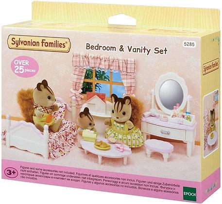Sylvanian Families - Bedroom & Vanity Set