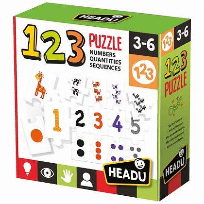 HEADU - 123 Number Puzzle