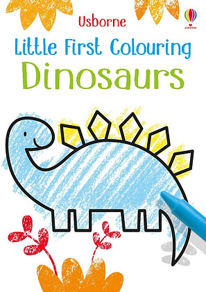 Usborne Little First Colouring Book Dinosaurs