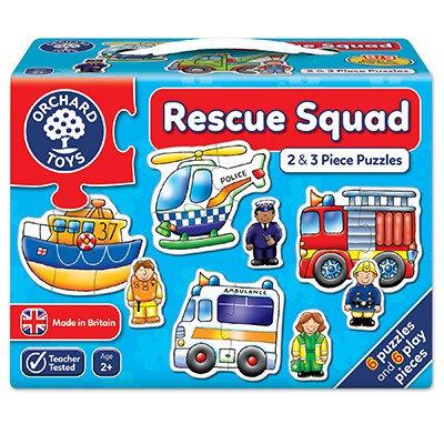 Rescue Squad  2-3pc Jigsaw