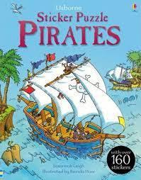 Usborne Sticker Puzzle Book Pirates