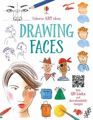 Usborne Drawing Faces Book