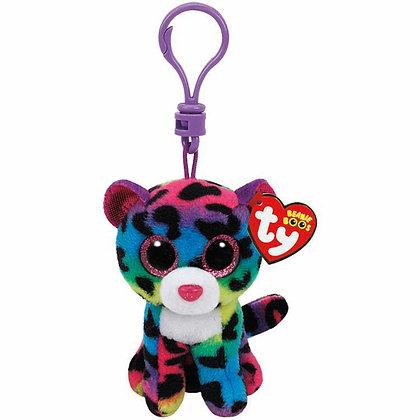Dotty - Leopard - TY - Key Clip