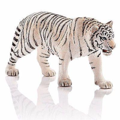 Schleich Tiger, White - 14731