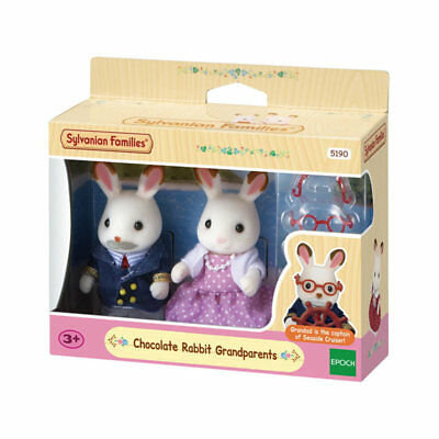 Sylvanian Families - Chocolate Rabbit Grandparents - 5190