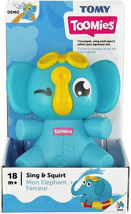 Tomy Toomies - Sing & Squirt Elephant
