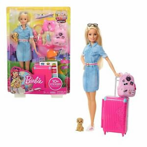Barbie Travel Doll and Acccessories