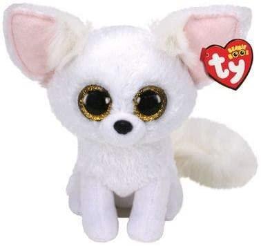"Phoenix - White Fox - 6"" TY Beanie Boo"