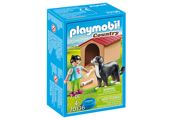 Playmobil Country - Dog with Doghouse - 70136