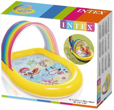 Intex Rainbow Arch Spray Pool